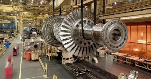 Mechanical Engineering  Gas Turbine Rotor