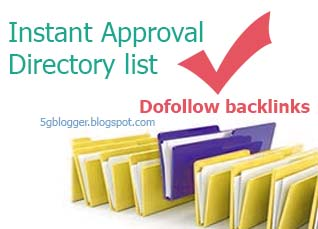 instant approval directories list