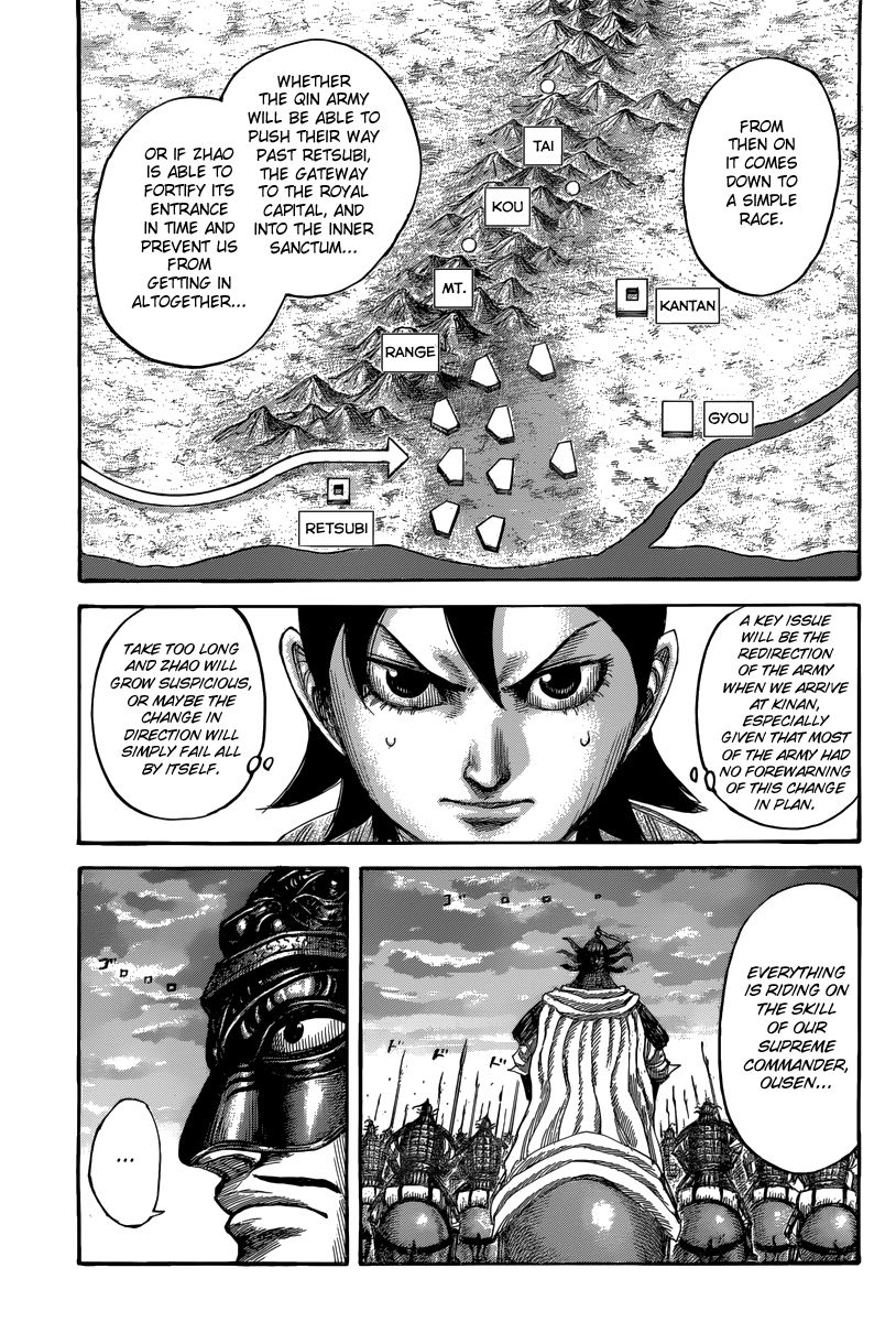 Kingdom - Chapter 506