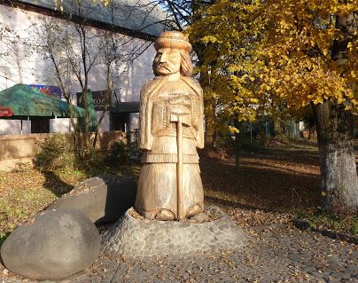 Свалява. Деревянная скульптура гуцула