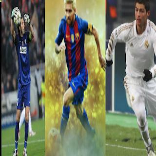 رونالدو وميسى وبوفون فى قائمة يويفا النهائية لأفضل لاعب فى أوروبا