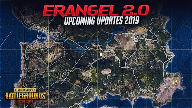 PUBG Mobile: Toàn bộ bản đồ Erangel sẻ được nâng cấp lên bản 2.0