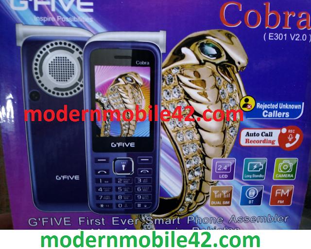 gfive cobra (e301v2.0) flash file