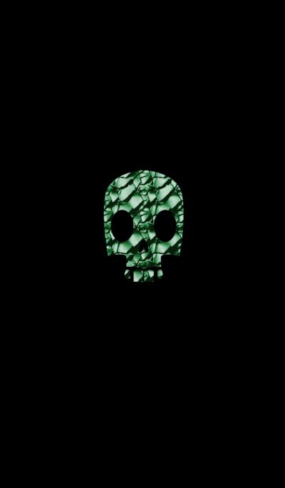 Mossy skull