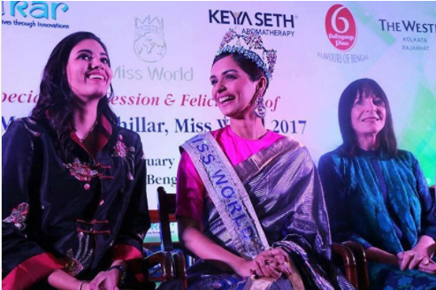 Miss World Manushi Chhillar On 'Beauty With A Purpose' Tour: Watch Video