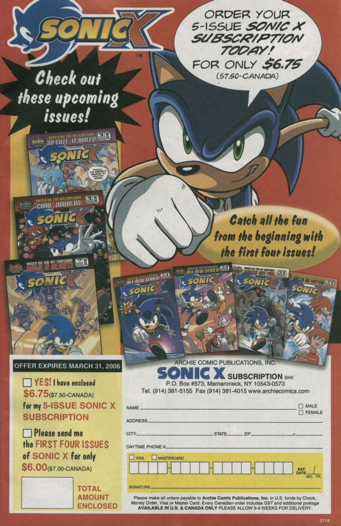 Read online Sonic The Hedgehog comic -  Issue #158 - 25