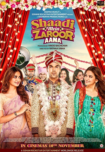 Shaadi Mein Zaroor Aana 2018 Hindi 720p HDRip 950mb