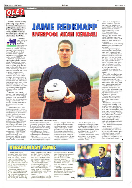 JAMIE REDKNAPP LIVERPOOL WILL BE BACK
