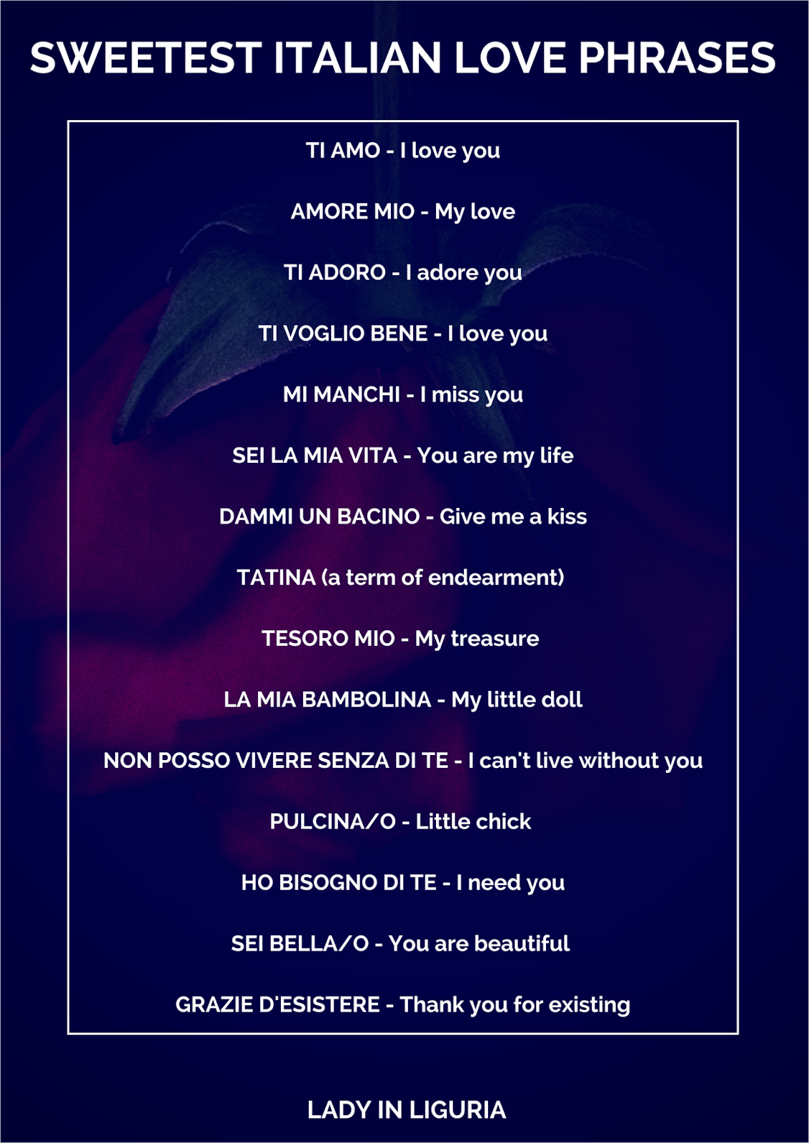 Beautiful Italian Quotes: 1000+ Images About Italian Love Phrases On Pinterest