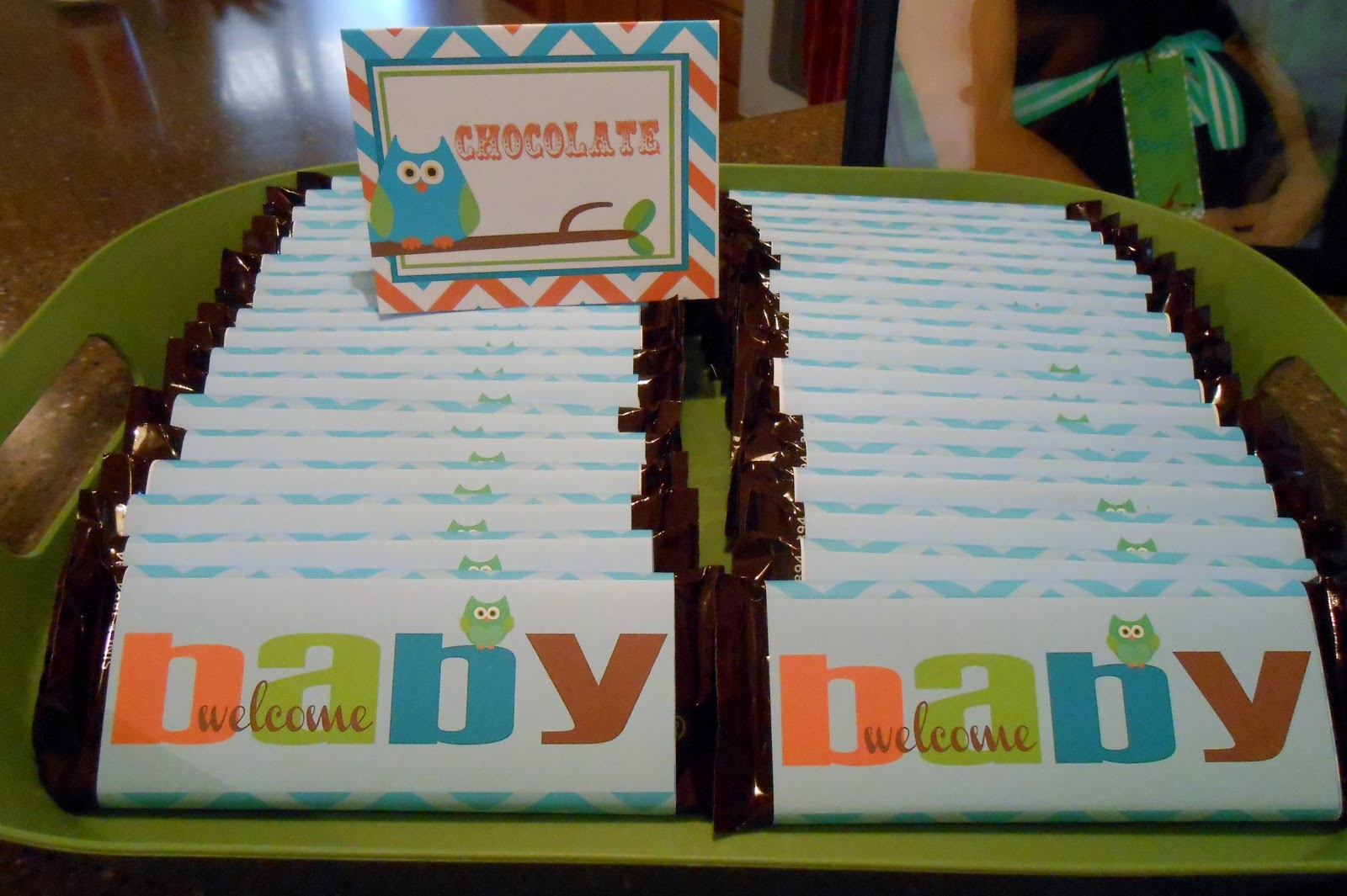 Ashers Baby Shower Cakes
