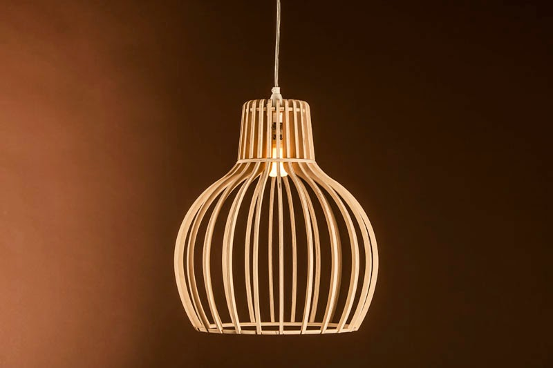 Wood & Bamboo Pendant Lights 22