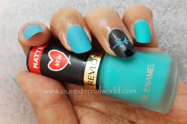 Art using revlon matte nail polishes and ejiubas nail vinyls nail art using revlon matte nail polishes and ejiubas nail vinyls prinsesfo Images