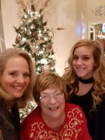 Betty Morton with Sarah & Chrissy