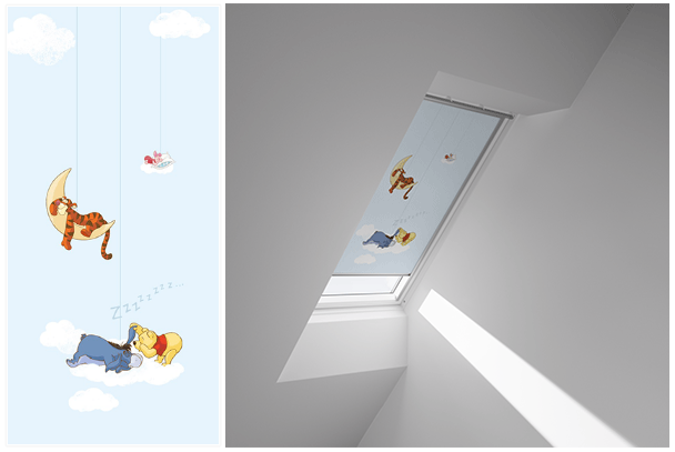 Winnie The Pooh Inspired Disney VELUX Blinds