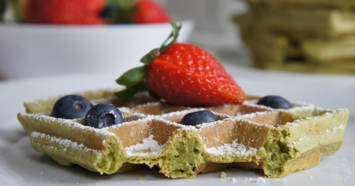 rezept glutenfreie matcha waffeln ein glutenfreier blog. Black Bedroom Furniture Sets. Home Design Ideas