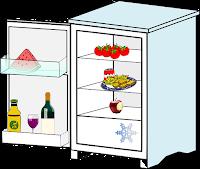 Internet der Dinge: Beispiel Kühlschrank.