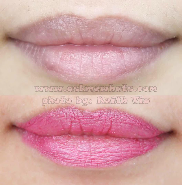 a photo of Estee Lauder Pure Color Sheer Matte Lipstick in Rebel swatch