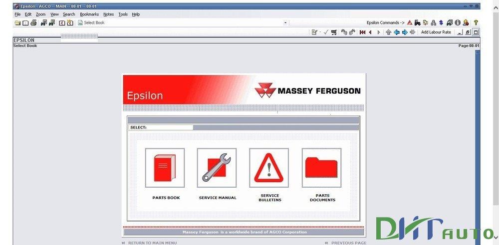 MASSEY FERGUSON NORTH AMERICA SPARE PARTS UPDATE 10 2015