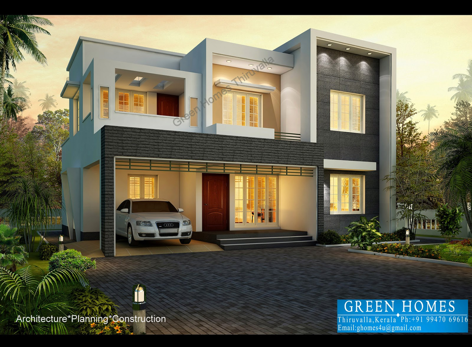 Green Homes Contemporary Style House