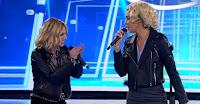 Belen Rodriguez imita l'ex rivale Emma Marrone: «Io non cammino così», poi il duetto?