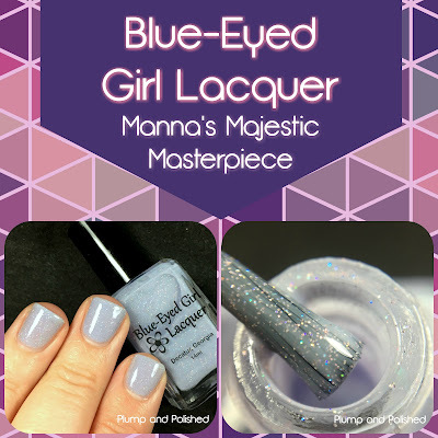 Blue-Eyed Girl Lacquer - Manna's Majestic Masterpiece