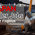 2017 Welder Jobs in Japan for Filipinos (No Placement Fee)