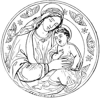 Gifs Y Fondos Paz Enla Tormenta Imágenes Virgen María