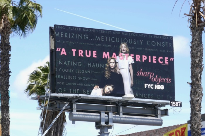 Sharp Objects Emmy FYC billboard