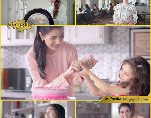 Rabab Hashim in Dawlance Inverter Technology TVC 2017 Power Pakistan