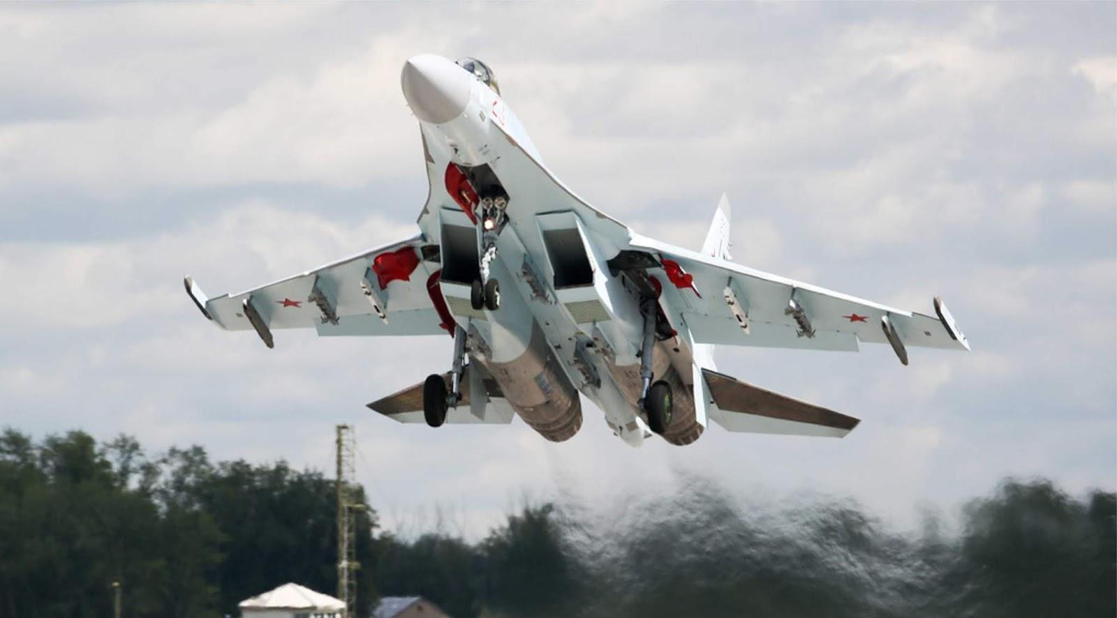 Sisi barat Rusia terus diperkuat dengan tambahan tiga Su-35S baru