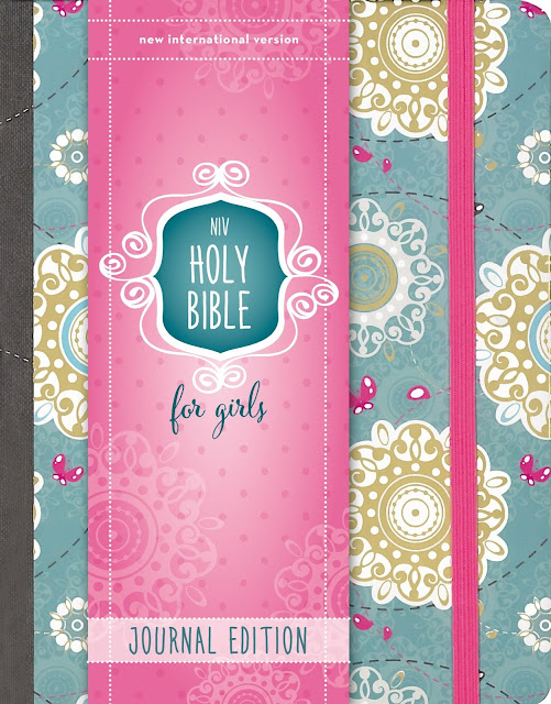 NIV Holy Bible For Girls, Journal Edition