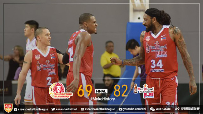 Alab Pilipinas def. Singapore Slingers, 82-69 (REPLAY VIDEO) February 4 | ABL