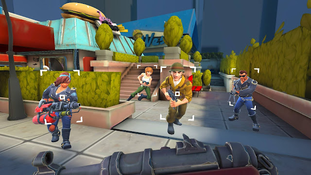 Download Heroes of Warland Mod Unlimited Bullets/Ammo cho Android