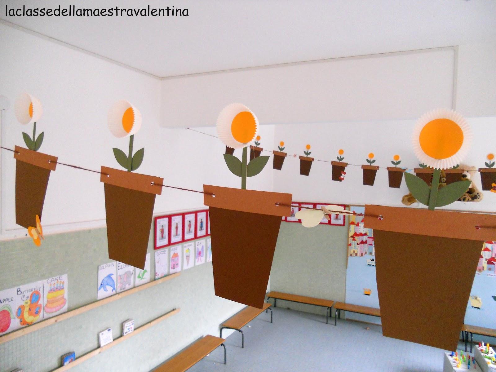 La classe della maestra valentina la mia classe adesso for La classe della maestra valentina primavera