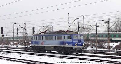 EU07-227 wracała luzem ze stacji Kraków Główny
