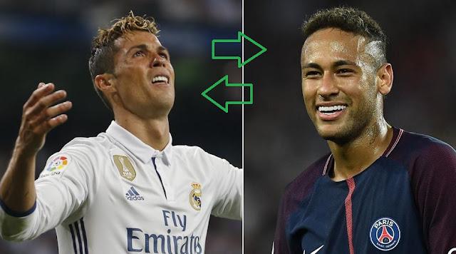 Cambiazo: Cristiano por Neymar