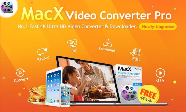 MacX Video Converter Pro - Fastest 4K Downloader & Converter