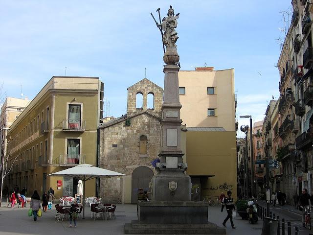 Praças para curtir Barcelona - Plaça del Pedró