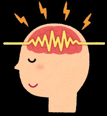 脳波のイラスト