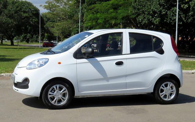 Chery QQ - 10º carro menos vendido do Brasil em 2018