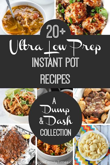 instant pot dump recipes collection