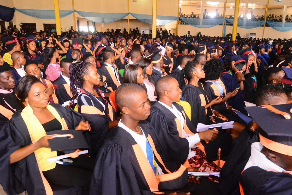 Ignatius Ajuru University of Education, IAUE matriculating students