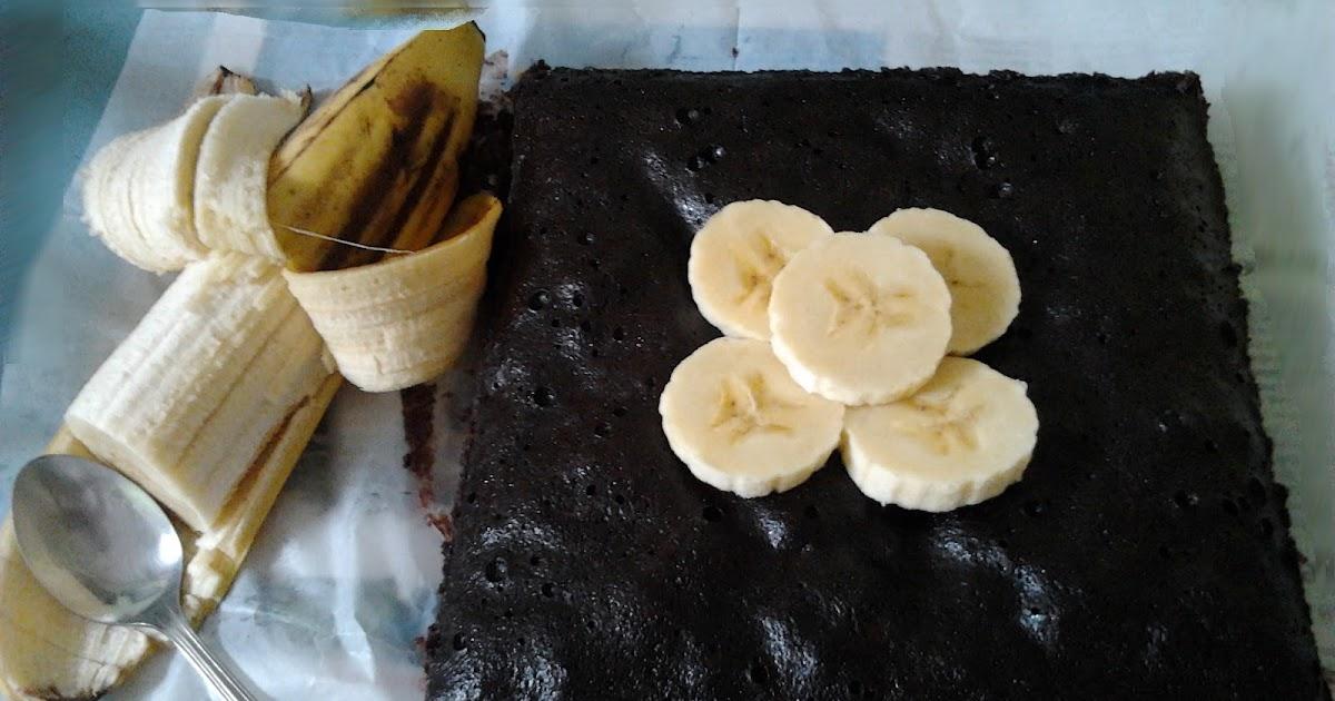 Brownies Kukus Pisang Coklat : Praktis And Truly Nyummi