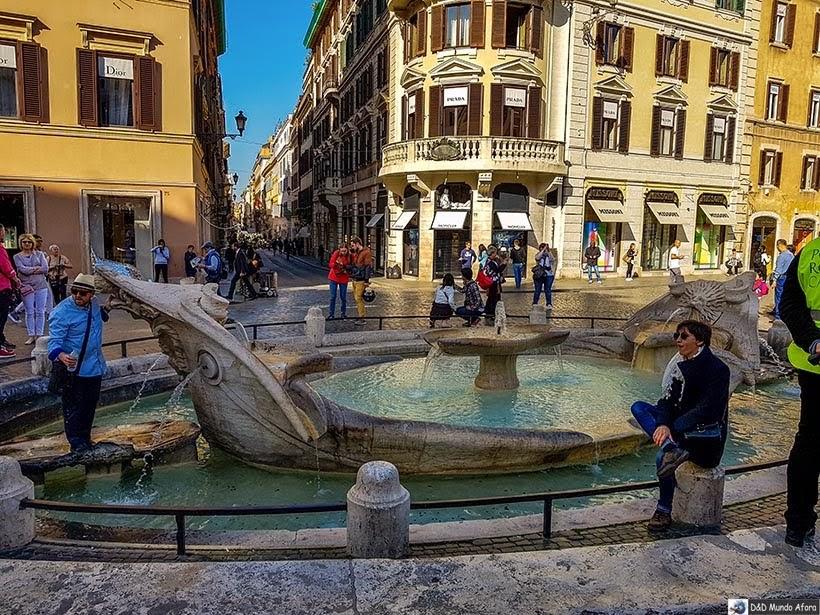 Piazza di Spagna - O que fazer em Roma, Itália