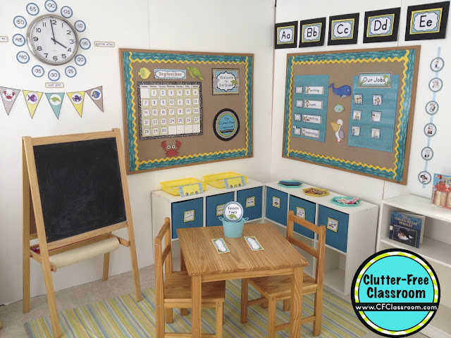 Classroom Decor Items ~ Beach themed classroom ideas printable