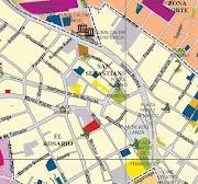 Mapas y planos de la ciudad de La Paz