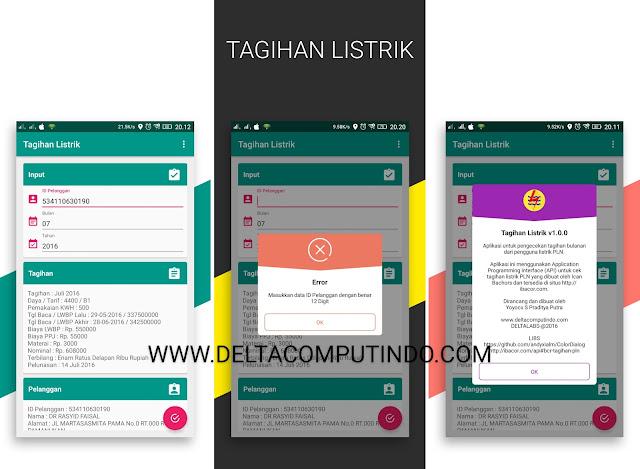 TAGIHAN LISTRIK v1.0.0