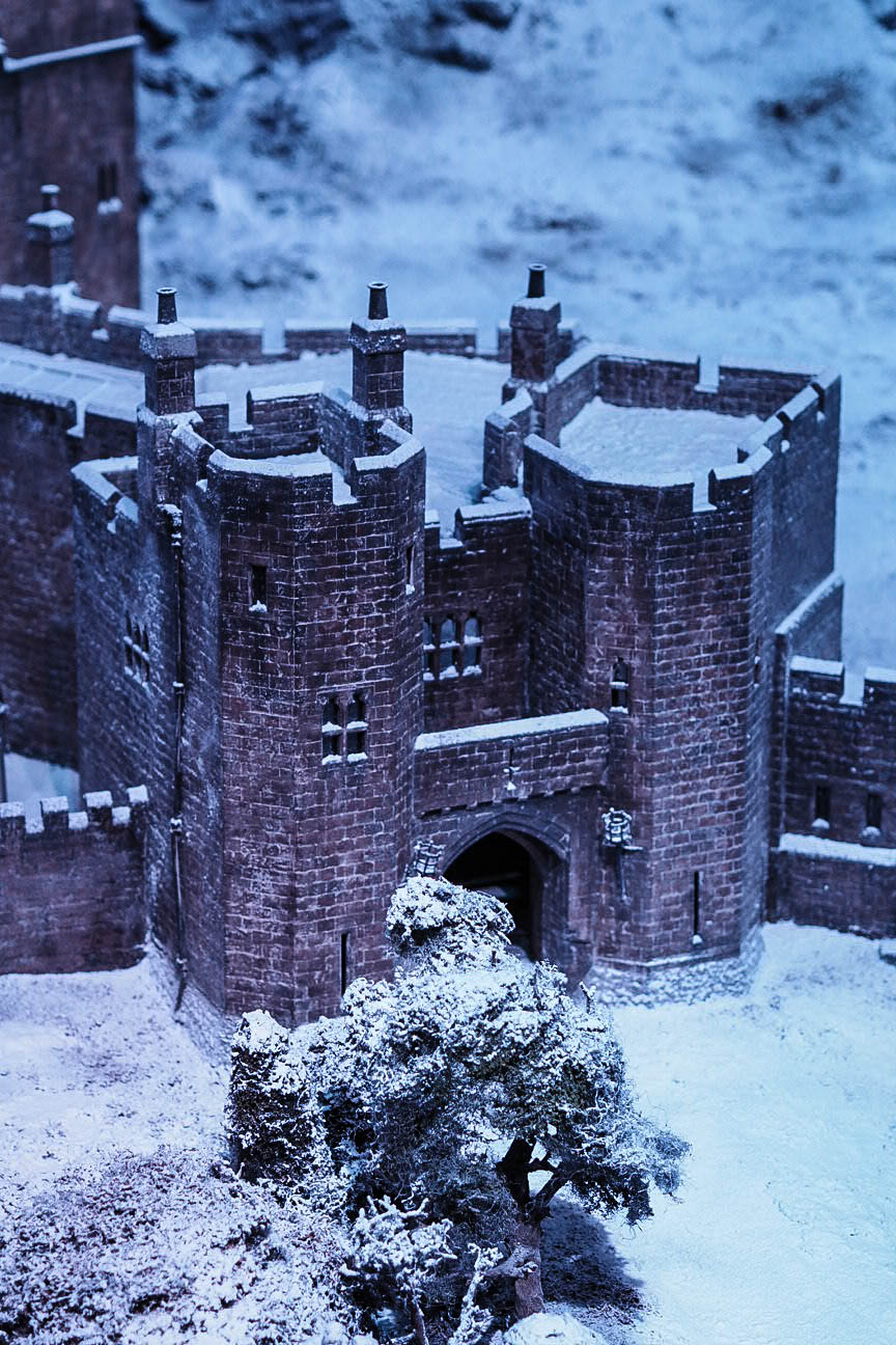 Hogwarts in the Snow at Warner Brothers Studio Tour, London