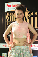Akshara Haasan in Peachy Crop Top Choli Skirt at IIFA Utsavam Awards 80.JPG