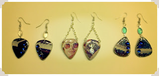 Elton John Guitar Pick Jewelry
